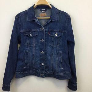 Levi's Denim Jacket with Pockets - XL